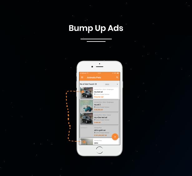 bump up ads