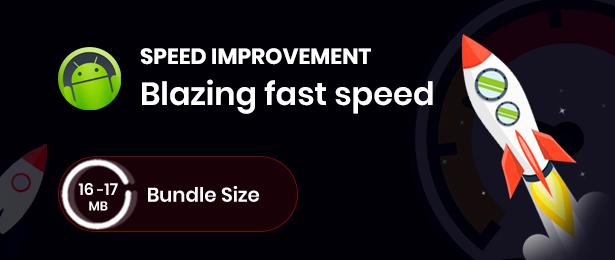 velocidade do aplicativo adforest