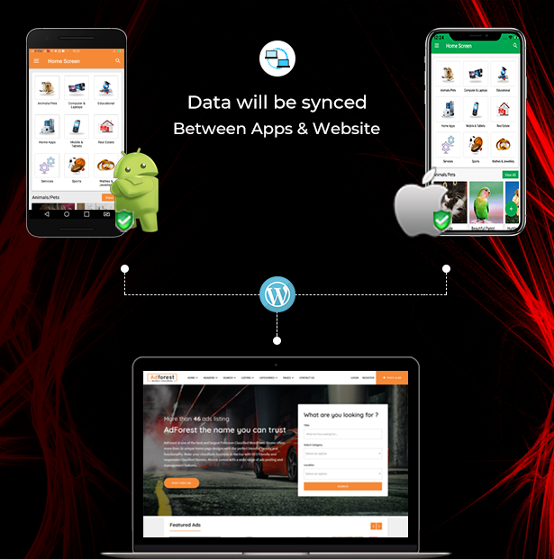 adforest classified theme and apps