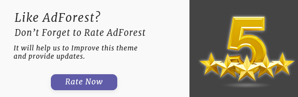 AdForest - Mayor tema de WordPress Classified