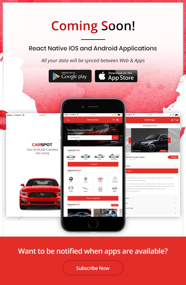 car dealer updated theme