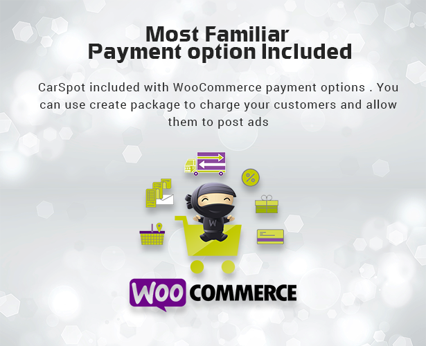 woo-commerce payment feature