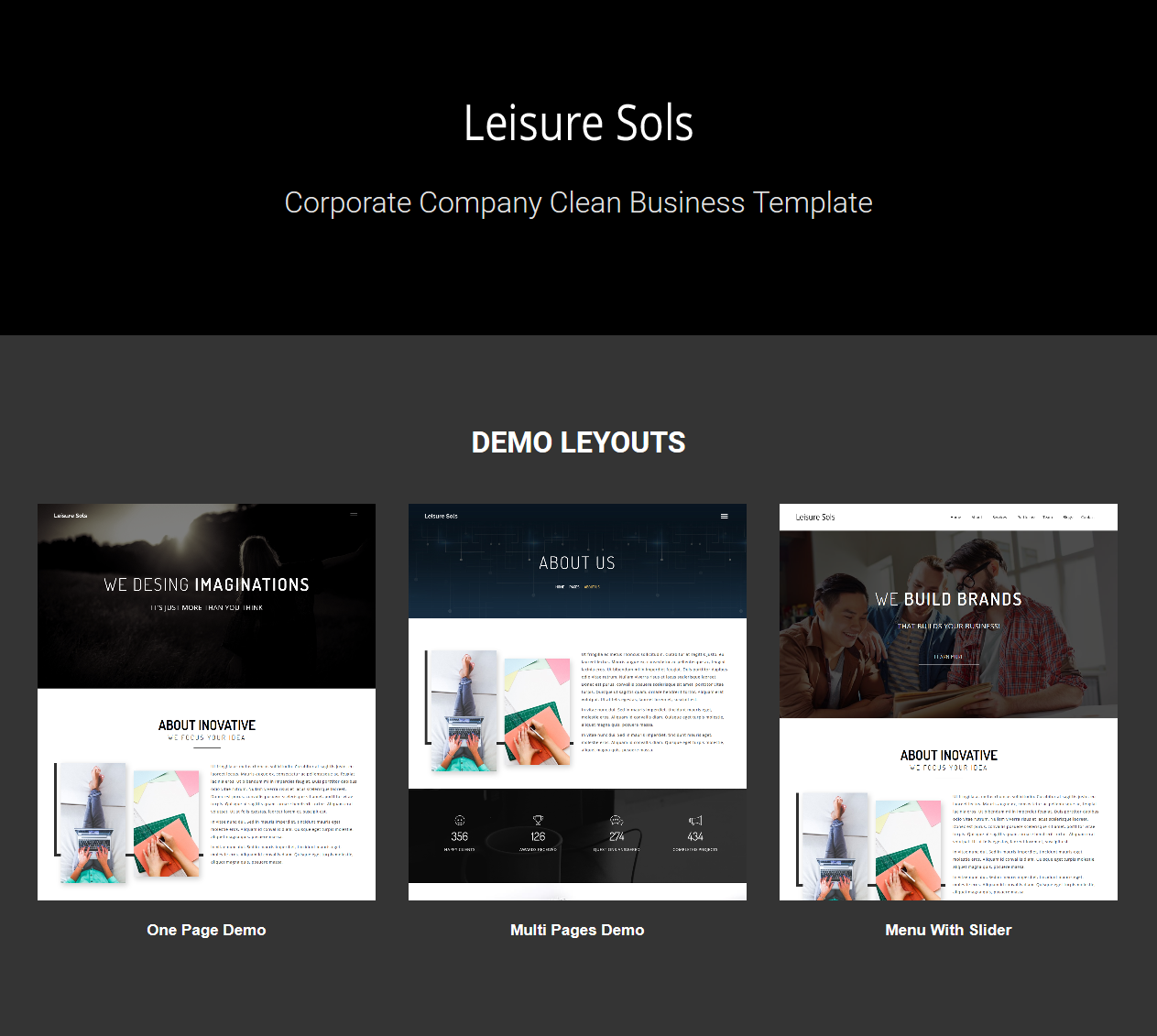 Leisure Sols Corporate Business Template - 3